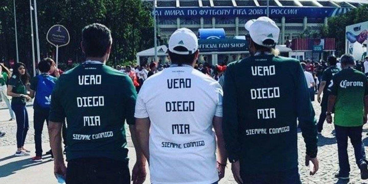 Aficionado mexicano viaja a Rusia 2018 en homenaje a su familia fallecida