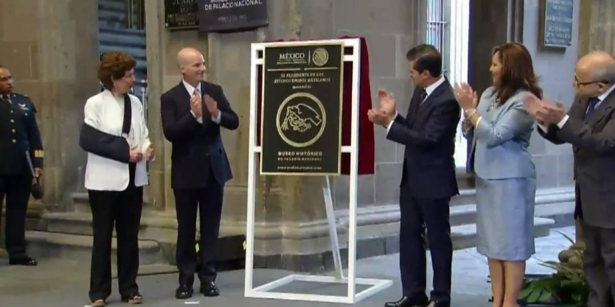 Peña Nieto inaugura el Museo Histórico de Palacio Nacional