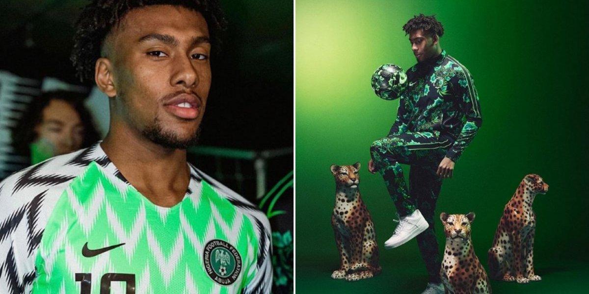 Gatos da Copa: Fotos provam que Alex Iwobi é o galã da seleção nigeriana