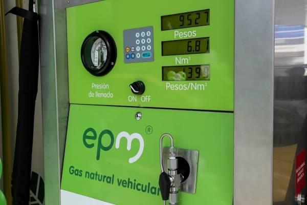 Estaciones de gas Medellín