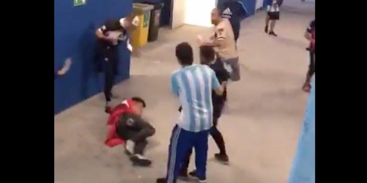 VIDEO. FIFA se conmociona con imágenes de golpiza de fans argentinos a croatas