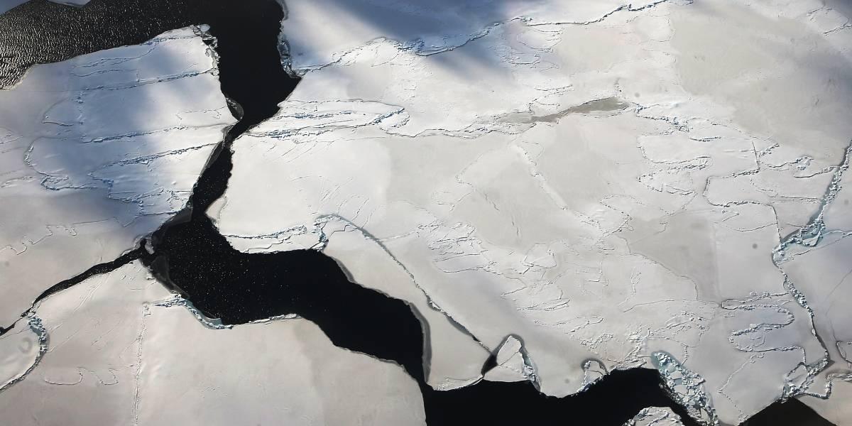 Cambios naturales en el suelo océanico de la Antártida reducidirían ligeramente el deshielo de los glaciares