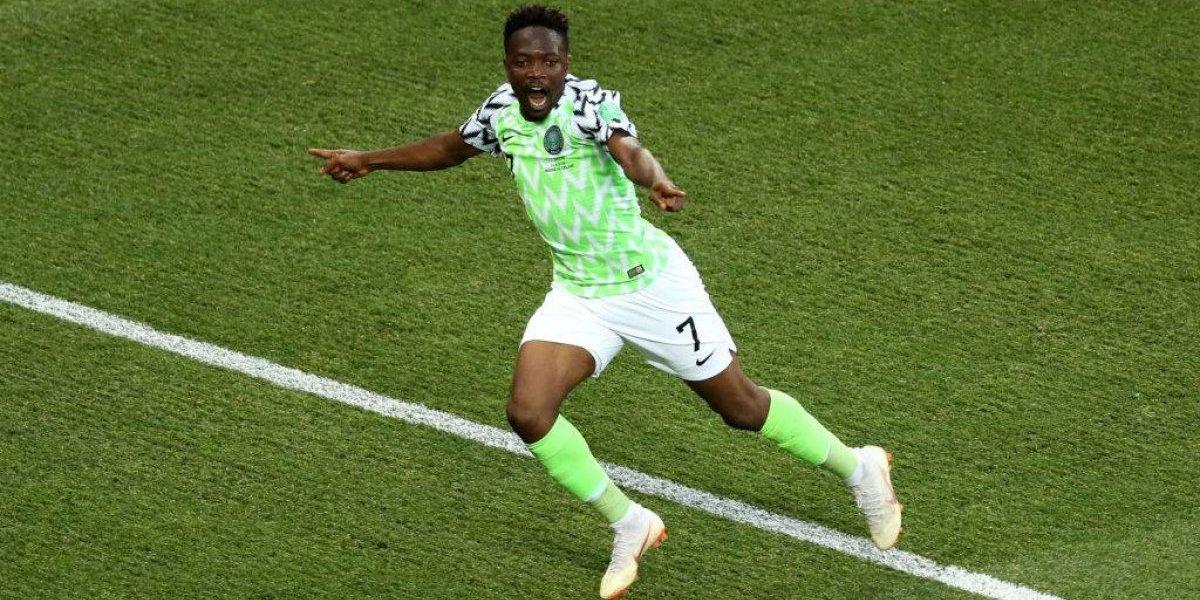 Así vivimos la victoria de Nigeria ante Islandia que le abre la ilusión a Argentina