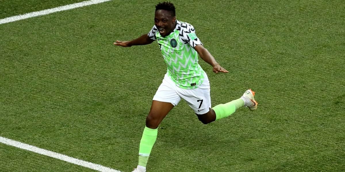 ¡'La Pulga' Musa! Nigeriano se vistió de Messi y le hizo el milagro a Argentina