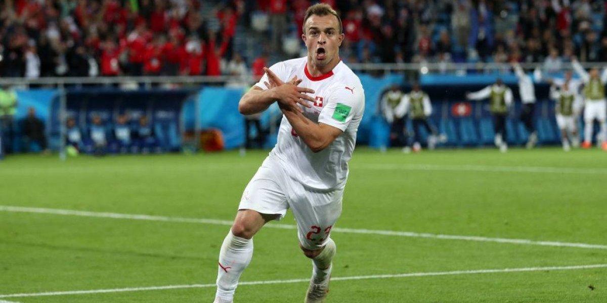 """El nuevo """"grupo de la muerte"""": Suiza le ganó en el final a Serbia y la zona de Brasil arde en Rusia 2018"""