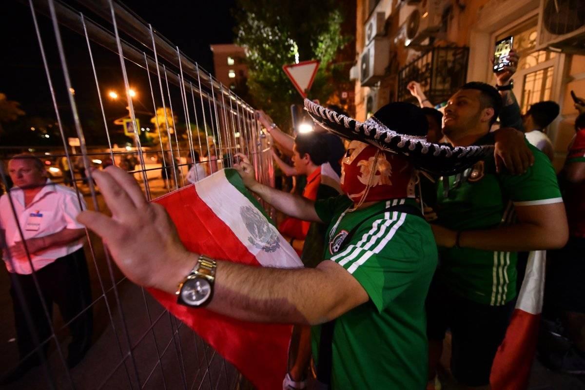 Afición lleva mariachi al Tri en Rusia 2018 Getty Images