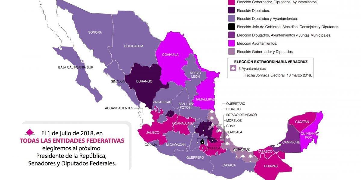 PREP 2018: Consulta los resultados electorales preliminares de las elecciones federales y locales
