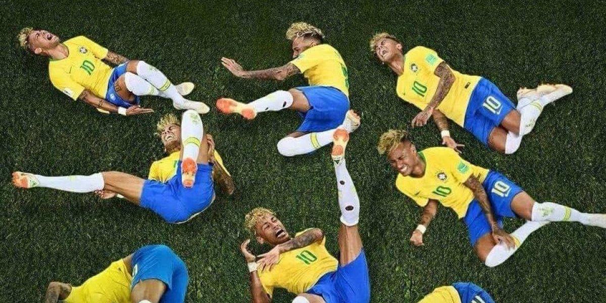 Memes destruyen a Neymar por su actuación ante Costa Rica