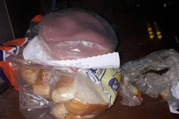 Mortadela y pan