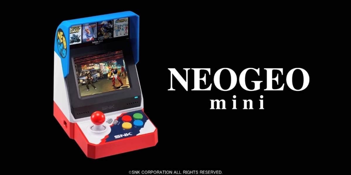 Anuncian precio y fecha de salida de la Neo Geo Mini