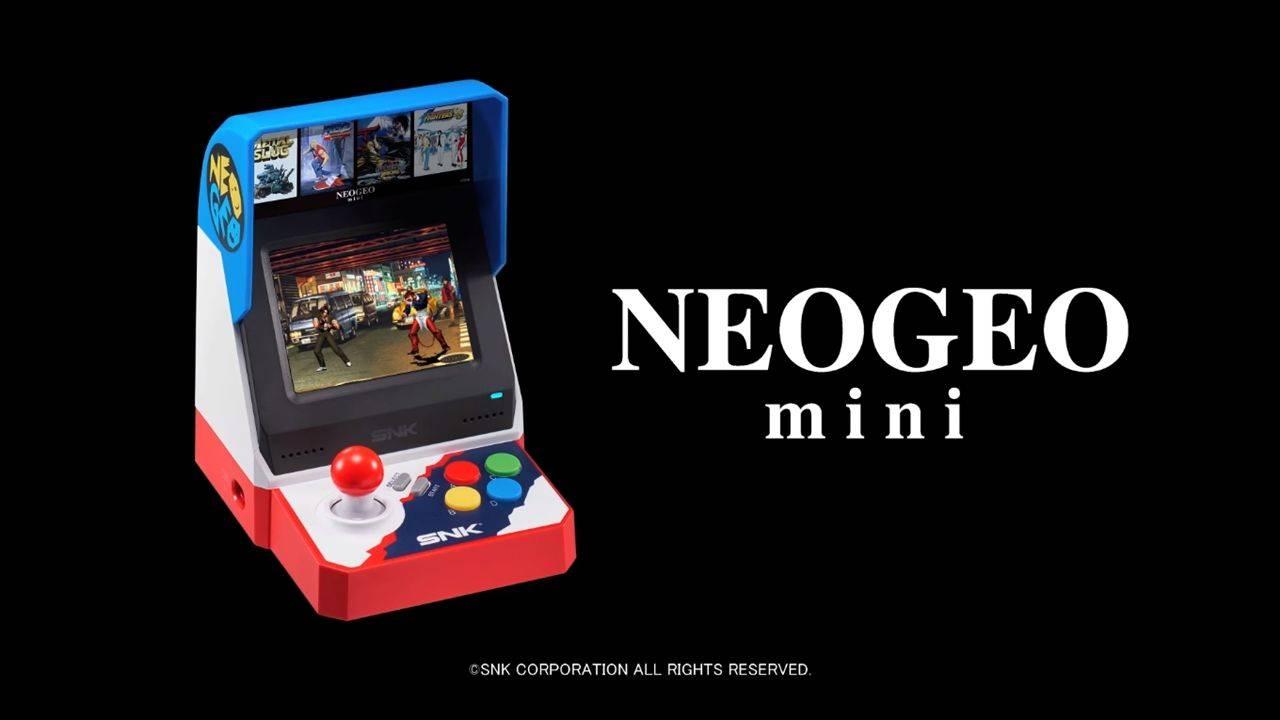 Neo Geo Mini recibe fecha de lanzamiento y precio para Japón