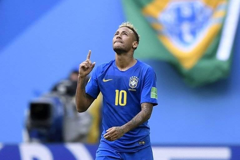 El festejo de Neymara tras su gol