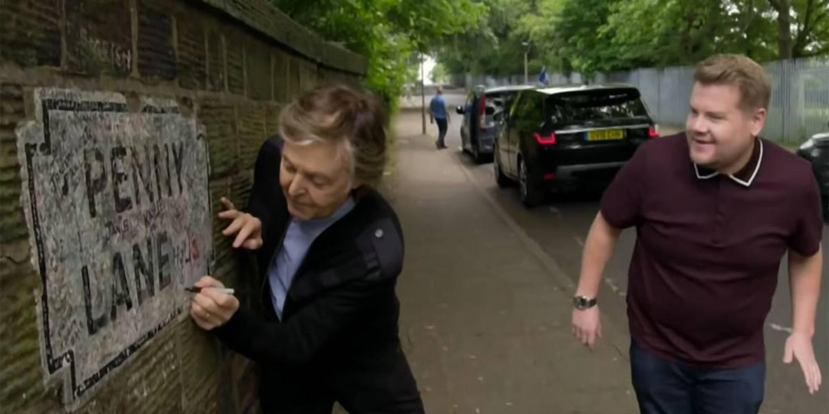 Você é beatlemaníaco? Prepare o lencinho para esse Carpool Karaoke com Paul McCartney por Liverpool