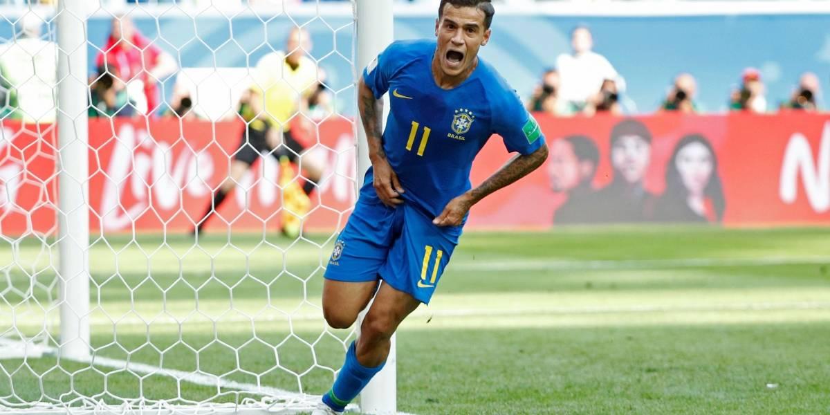 AO VIVO: Philippe Coutinho e Neymar marcam no fim