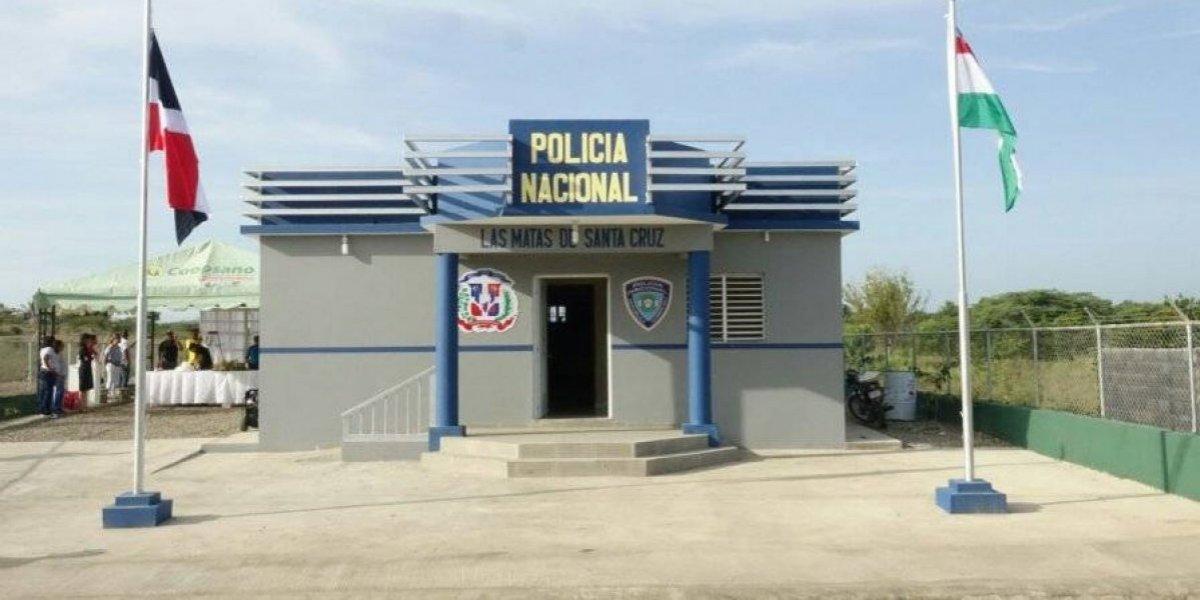 PN inaugura destacamento policial en Las Matas de Santa Cruz