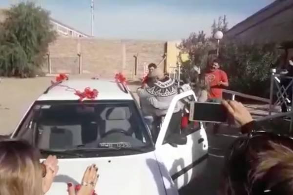 regalo auto nuevo a Mercelo