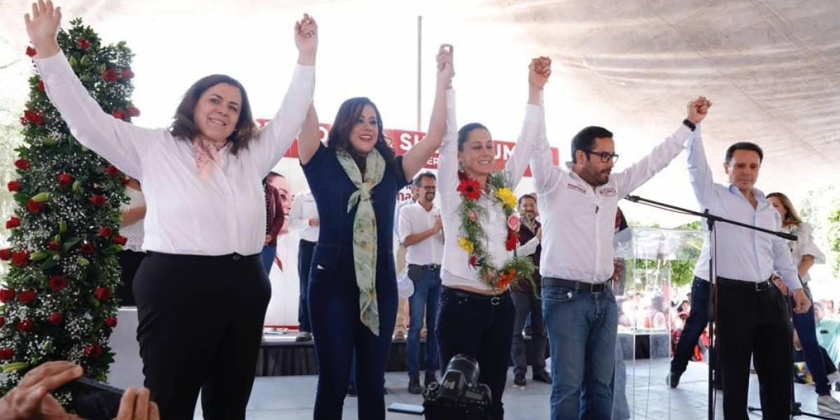 Candidatos de PVEM, Panal y Humanista se integran a campaña de Víctor Hugo Romo