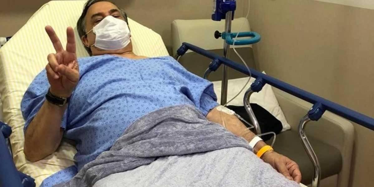 Ronnie Von recebe alta de hospital após contrair gripe H1N1