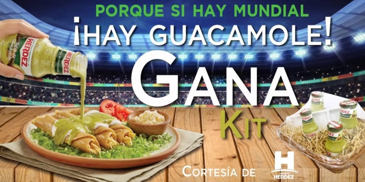 ¡Gana! kit ¡Si hay mundial, hay Guacamole!