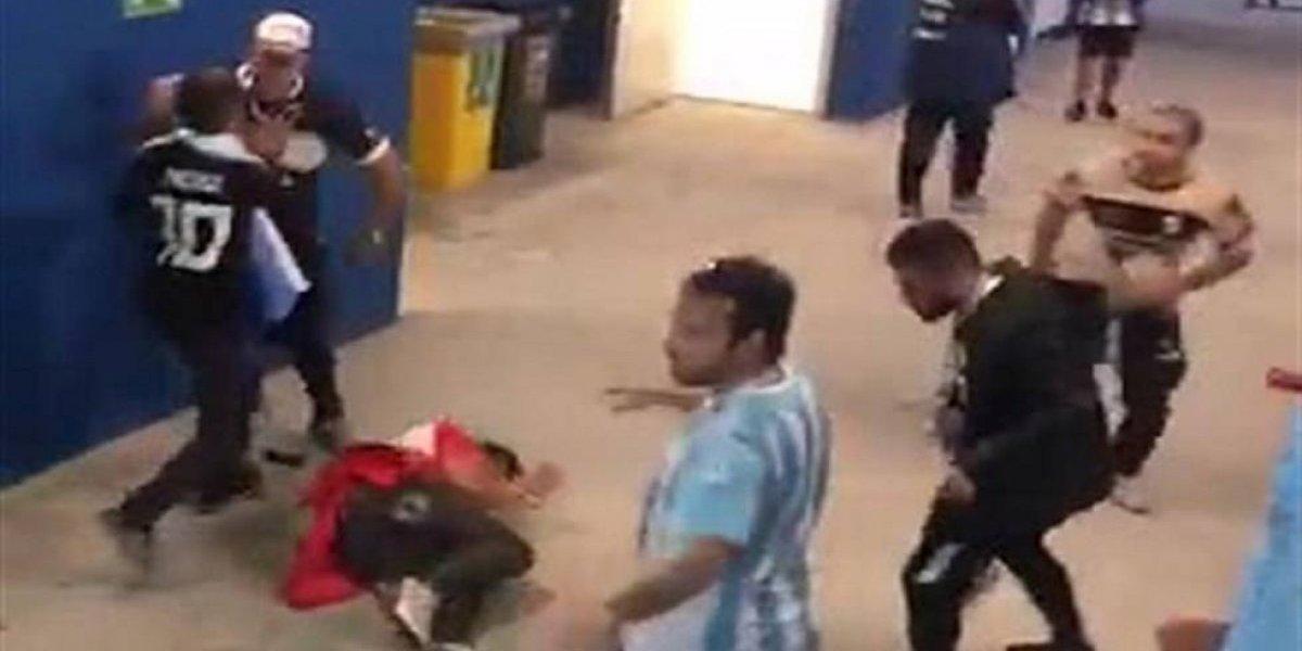 Gobierno argentino pide que arresten y deporten a aficionados que golpearon a croatas