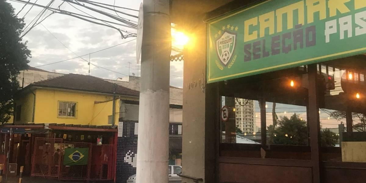 Bares da Vila Madalena abrem cedo para o jogo do Brasil
