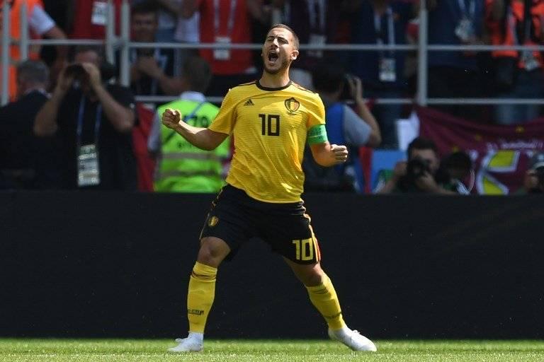 Hazard se estrenó como goleador en el Mundial