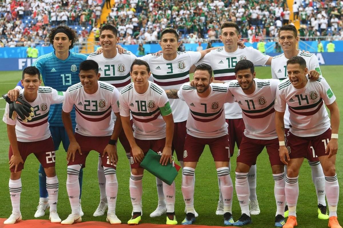 México es líder del grupo F.