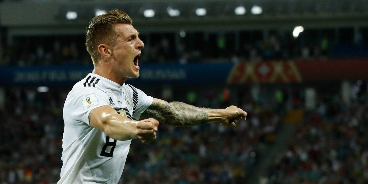 Alemania remonta en plena agonía y vuelve a la vida
