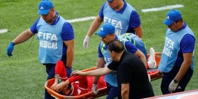Dylan Bronn substituído Tunísia x Bélgica