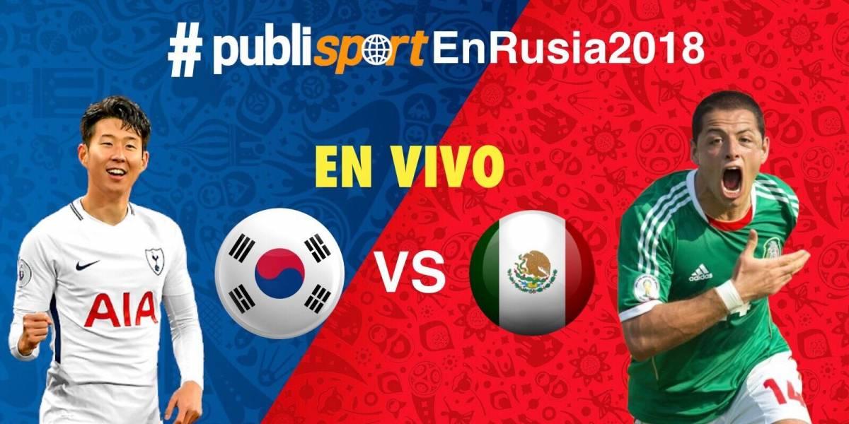 México se impone a Corea del Sur y acaricia los octavos de final