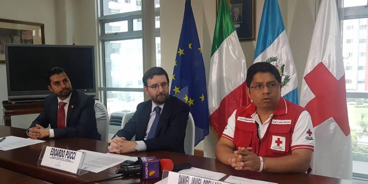 Italia entrega 200 mil euros para atención de los damnificados por el volcán de Fuego