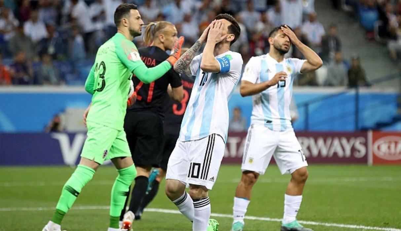 La derrota de Argentina vs Croacia fue el livestream en español más visto de la historia