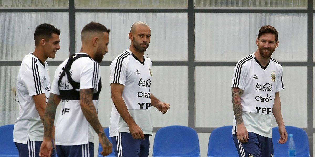 Aseguran que a los puños terminó fuerte discusión en la selección Argentina