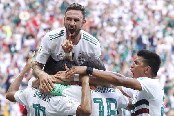 Goles de México a Corea Del Sur