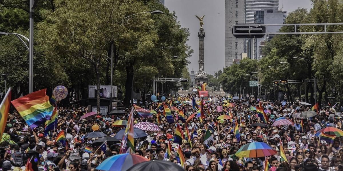 Galería: Así se vivió la 40 marcha LGBT+ en la Ciudad de México