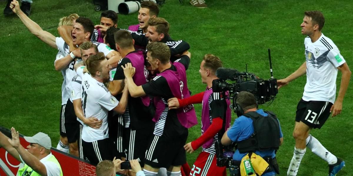 AO VIVO: Com um homem a menos, Alemanha vira contra a Suécia em lance espetacular