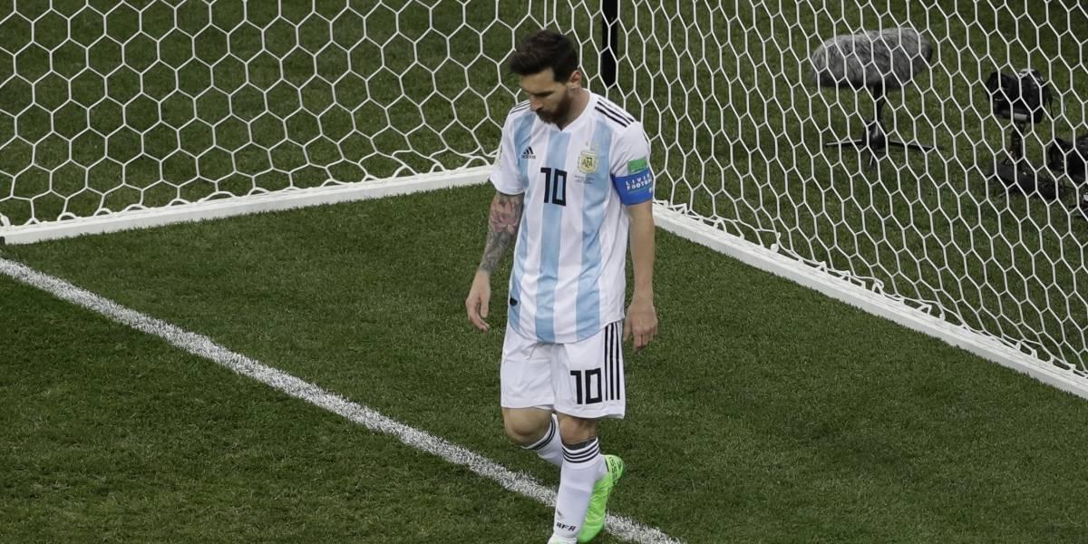"""En Argentina dan cuenta de la depresión que golpea a Messi en Rusia: """"Está roto por dentro y por fuera"""""""