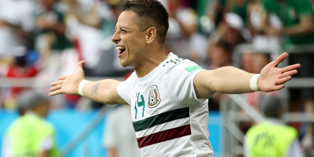 'Chicharito' llegó a 50 goles con el Tri y a cuatro en Mundiales