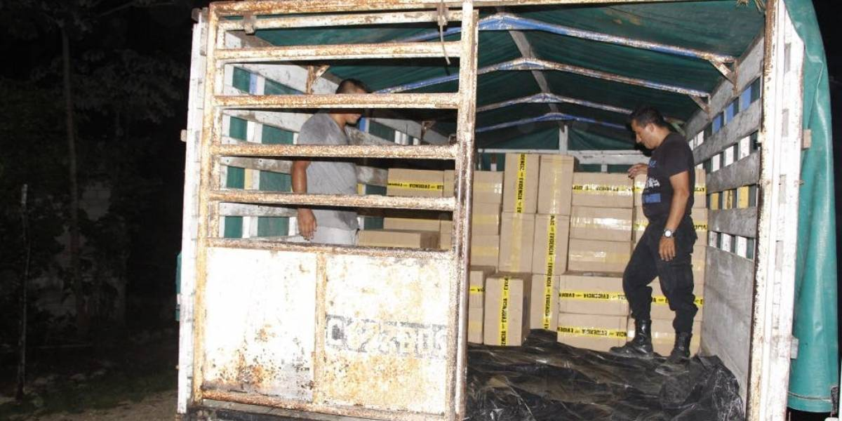 Contrabandista acepta su delito y se suspende el proceso en su contra