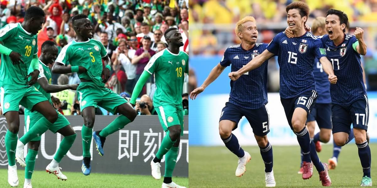¡Colombia atenta! Japón y Senegal sueñan con los octavos de final