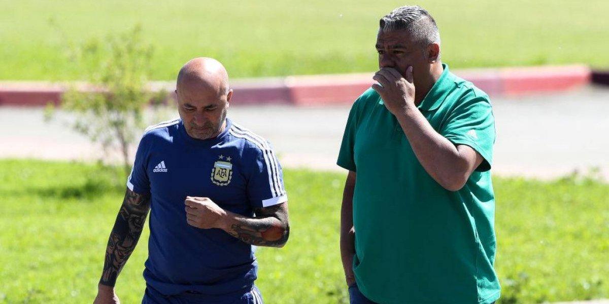 """El barco se hunde: Sampaoli ya no """"manda"""" en Argentina y todo es incertidumbre antes de la """"final"""" con Nigeria"""