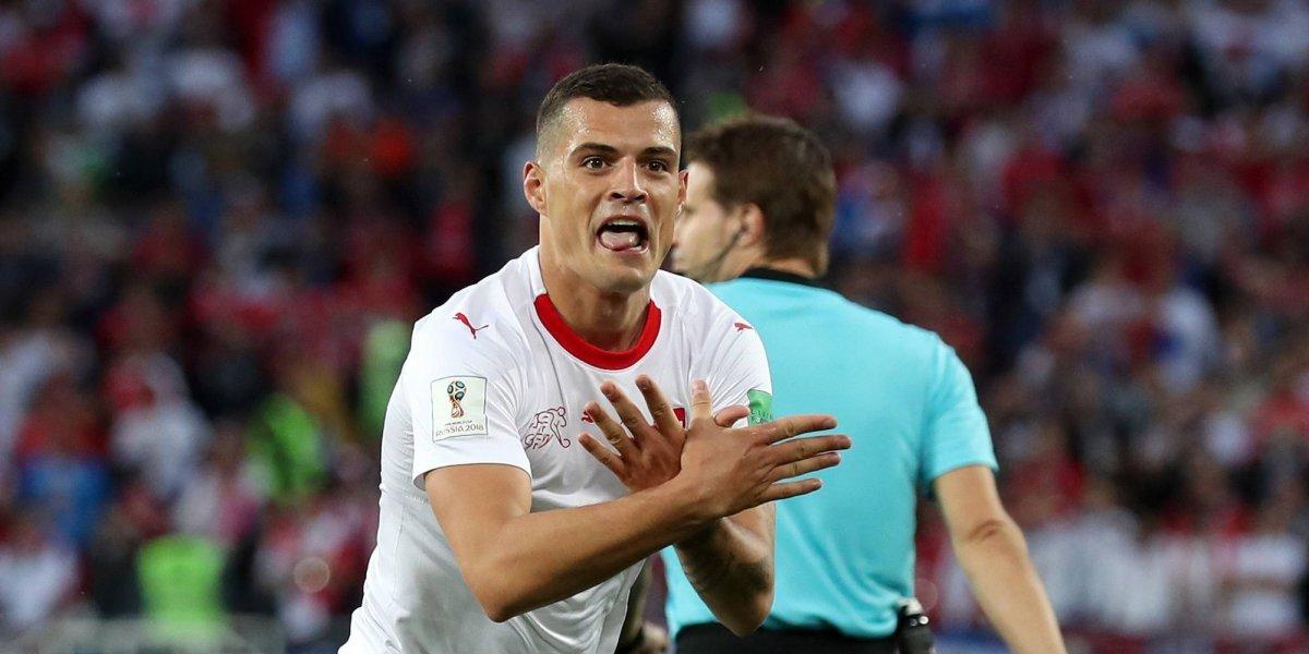 FIFA analiza sanción hacia Xhaka y Shaqiri por celebraciones