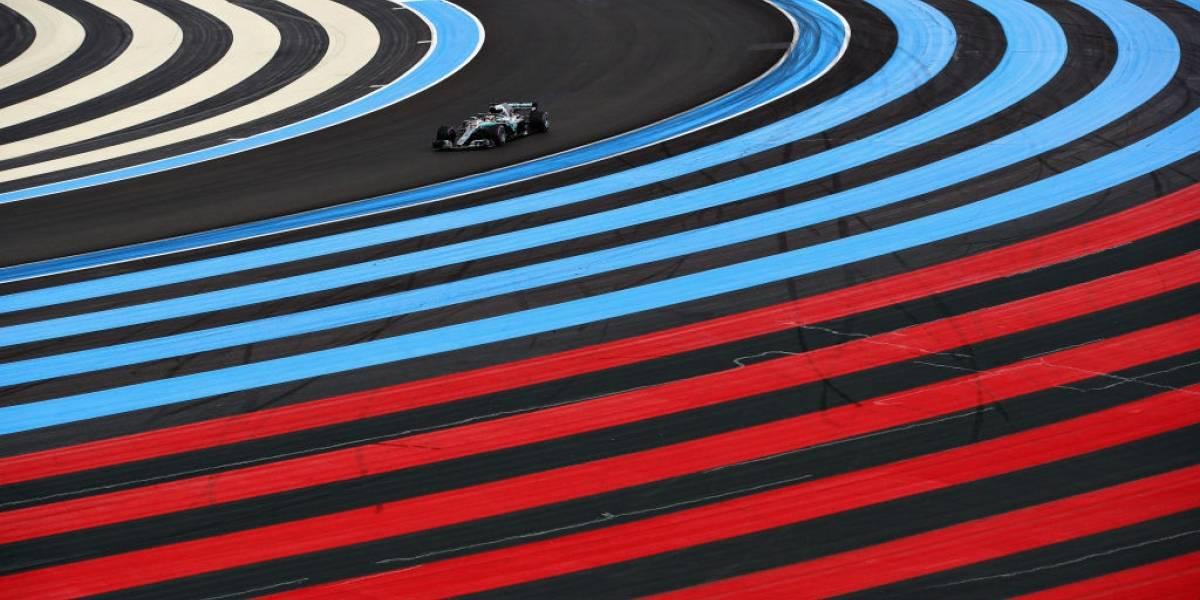 Lewis Hamilton sale en punta en Francia y acecha a Vettel en la F-1