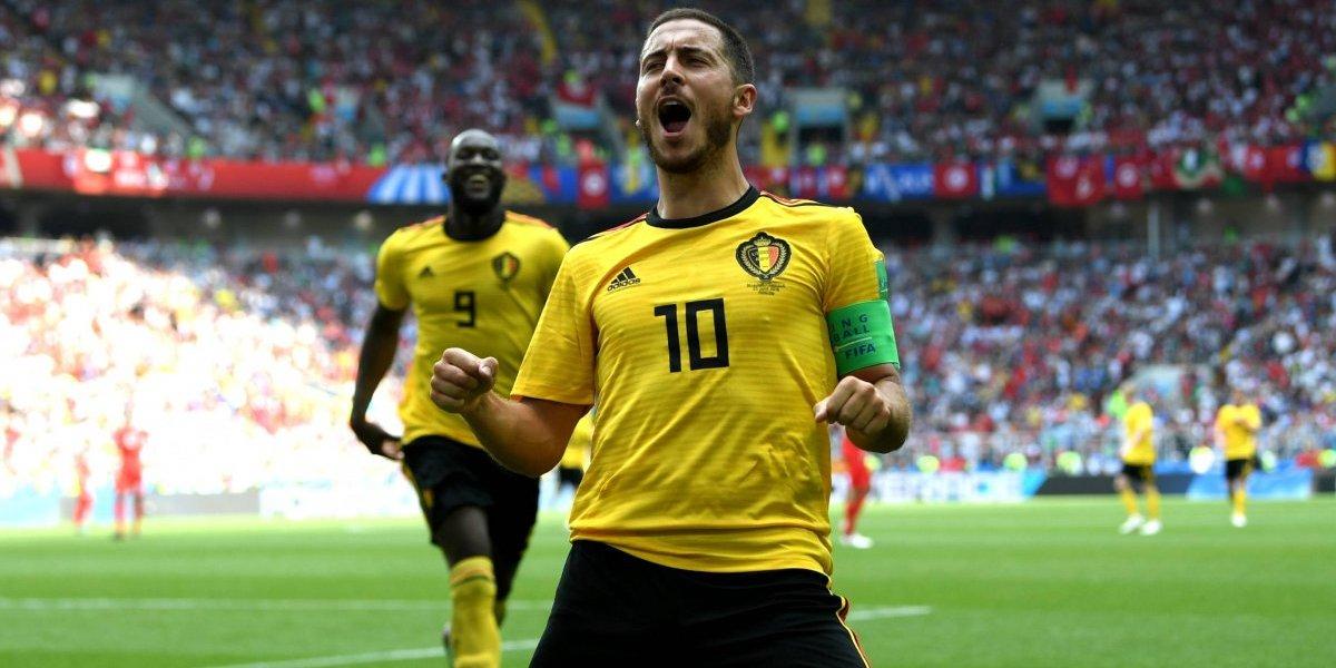 Bélgica golea y elimina a Túnez de Rusia 2018