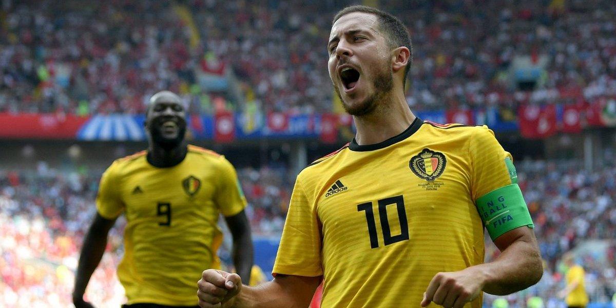 ¡Un 'duque' se adueñó de Rusia! Hazard comandó la goleada de Bélgica