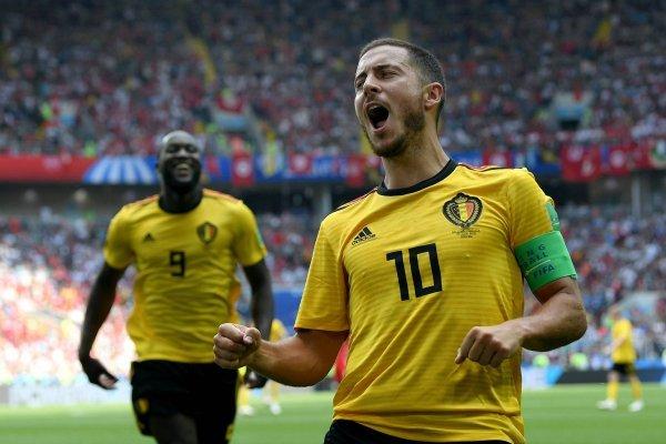 Video de los goles de Lukaku con Bélgica VS Túnez