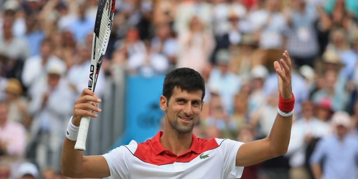 Novak Djokovic resucita y llega a una final después de casi un año