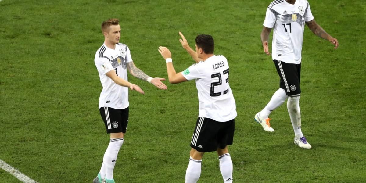 Alemania logró un milagro ante Suecia y se salvó de una bochornosa eliminación en Rusia 2018