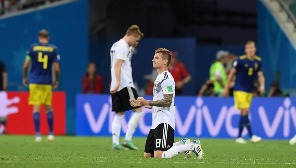 Triunfo de Alemania en tiempo de compensación Gettyimages