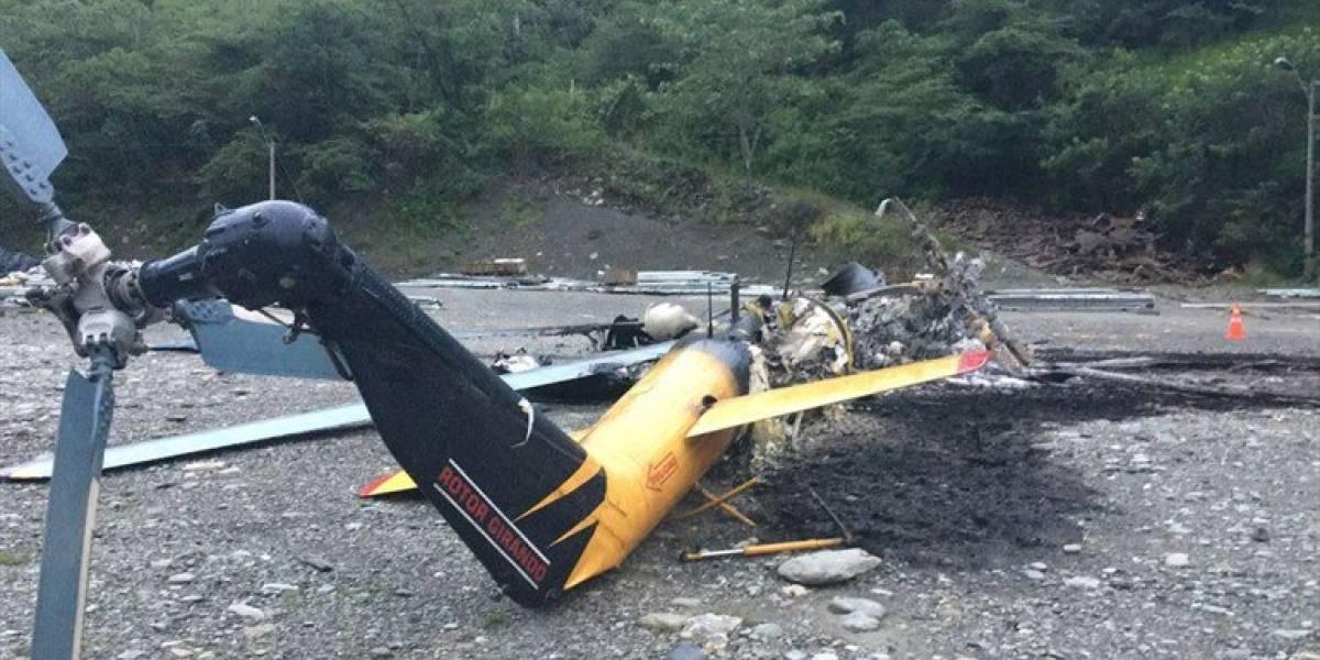 Disidentes de FARC queman en Colombia aeronave de ayuda a emergencia en represa Hidroituango